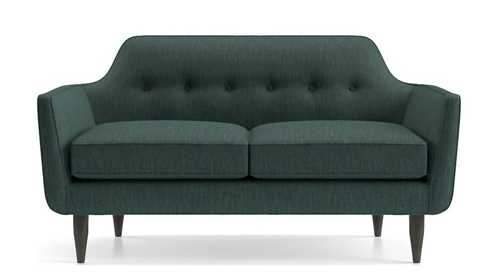 Gia Button Tufted Loveseat - Image 2 of 5