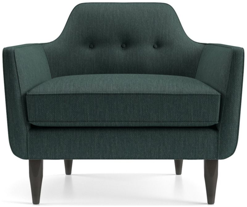 Delicieux TAP TO ZOOM Gia Button Tufted Chair Shown In Brennan, Teal