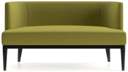 Grayson Settee shown in Luxe, Citron