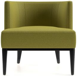 Grayson Chair shown in Luxe, Citron