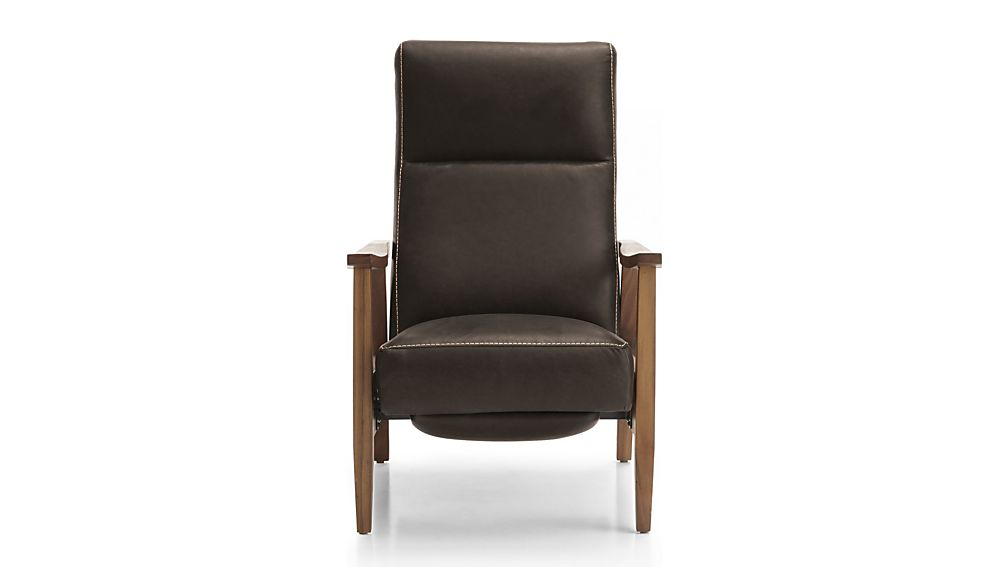 Greer Leather Power Recliner; Greer Leather Power Recliner ...  sc 1 st  Crate and Barrel & Greer Leather Power Recliner   Crate and Barrel islam-shia.org