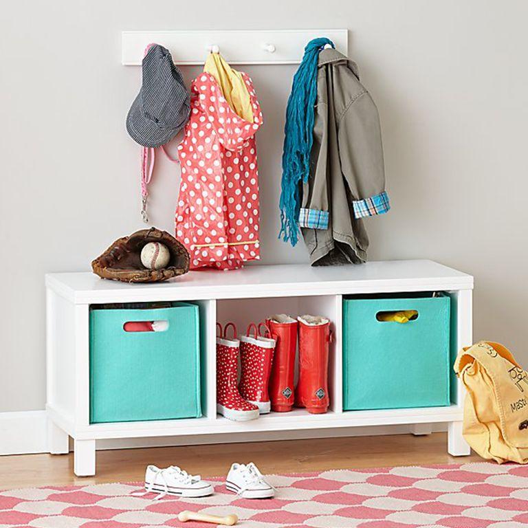 Kids Shoe Storage Ideas
