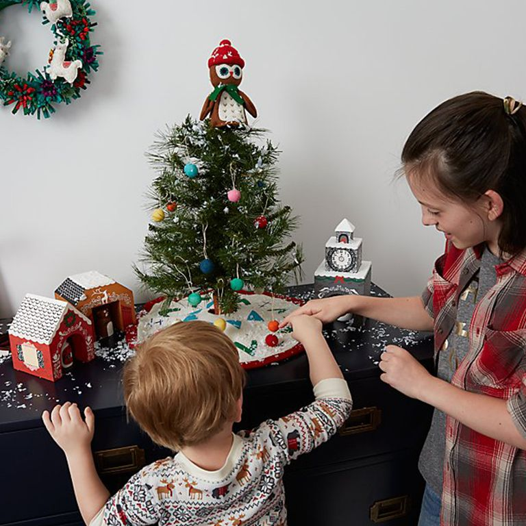 Christmas Tree Decorating Ideas For Kids Crate And Barrel