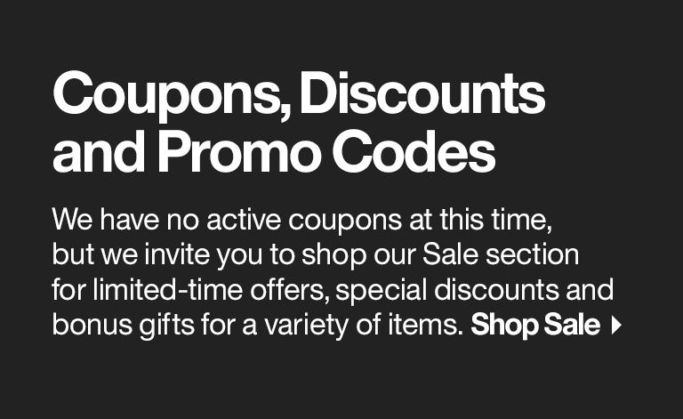 Coupons, Discounts and Promo Codes | Crate and Barrel