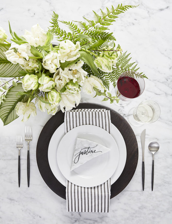 White Table Setting Ideas Crate And Barrel Blog