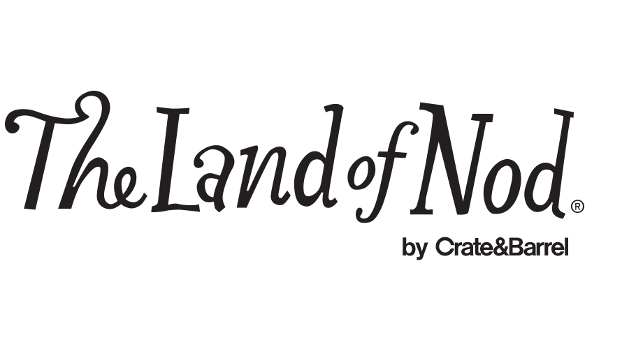 The Land of Nod, a Crate and Barrel Company Logo