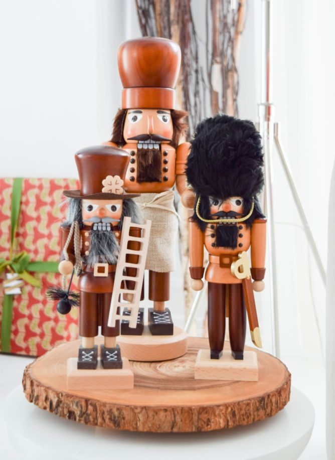 Natural chimney sweep nutcracker