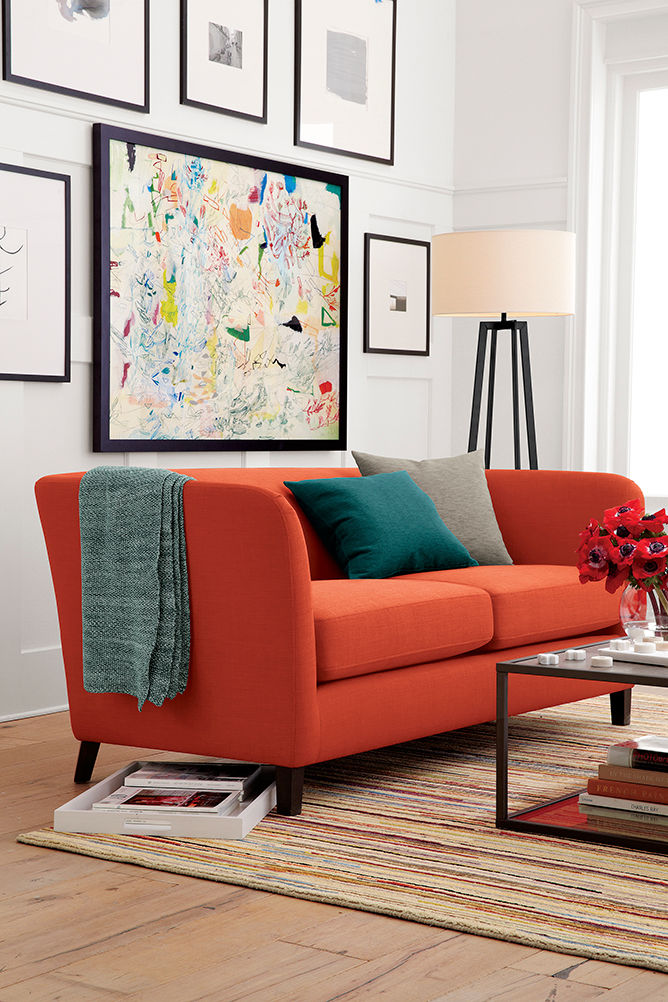 Living Room Ollie Apartment Sofa