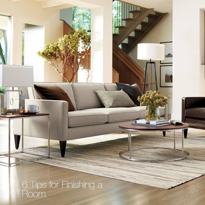 Contemporary Living Room Design Crate And Barrel Blog
