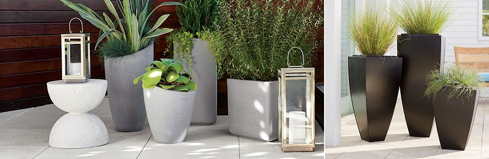 Outdoor Planters Pots And Garden Tools Crate And Barrel