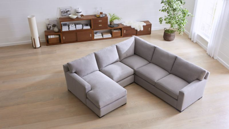 Montclair Sectional Sofas Crate and Barrel