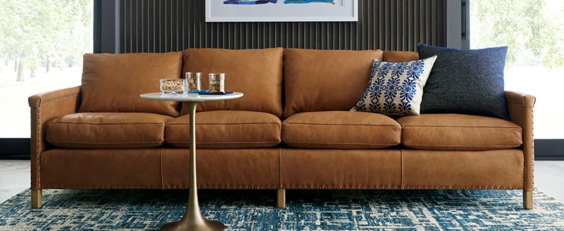 sofa fabric types crate and barrel rh crateandbarrel com best fabric sofa stain remover best fabric sofas in india