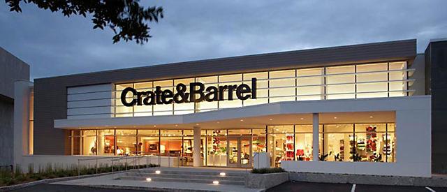 Merveilleux Crate And Barrel