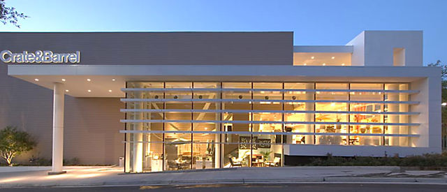 b4c9fedfac Exterior view of Crate and Barrel location