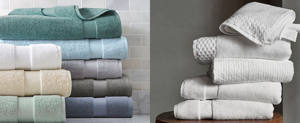 Bath Towels 101 How To Choose Towels Crate And Barrel